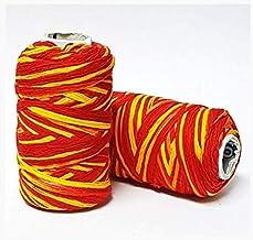 NIK DHRITI Cotton Kalava, Moli, Rakshasutra, Mauli, Puja Sacred Thread ( 5 X 2 X 2cm , Small , Red/Orange , 10)
