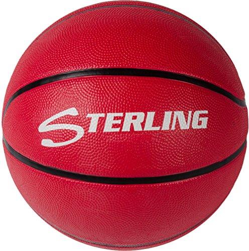 Find Bargain Sterling Premium Superior Grip Red Junior Size 5 Rubber Basketball
