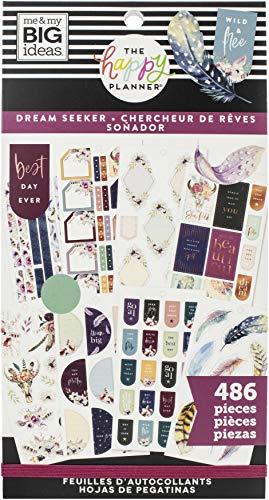 Me & My Big Ideas Happy Planer STCKRS Seek, Dream Seeker, 486 Stück