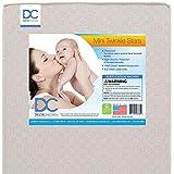 Delta Children Twinkle Stars 3-inch Mini/Portable Crib Mattress – Waterproof – Lightweight – GREENGUARD Gold Certified – 10 Year Warranty