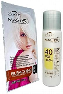 bleach white toner kit before and after
