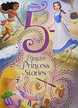 Disney Princess 5-Minute Princess Stories [Hardcover]