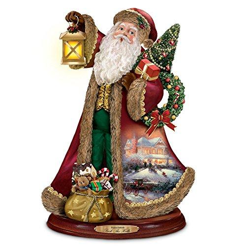 Singender Weihnachtsmann - Thomas Kinkade