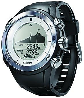 [エプソン リスタブルジーピーエス フォー トレック]EPSON Wristable GPS for Trek 腕時計 ランニング 登山用 GPS 3D標高ナビゲーション MZ-500S