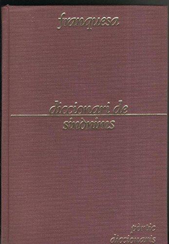 Diccionari de sinonims