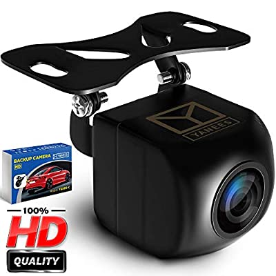 Backup Camera Night Vision - HD 1080p - Car Rear View Parking Camera - Best 170° Wide View Angel - Waterproof Reverse Auto Back Up Car Backing Camera - High Definition - Fits All Vehicles by Yanees from Shenzhen JH Worlds Technolgy Co.,Ltd