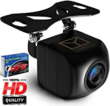 YANEES Backup Camera Night Vision - HD Car Rear View Camera - Parking GuideLines ON Off - Wide View Angel - Waterproof Reverse Auto Back Up Car Backing Camera - High Definition - Fits All Vehicles
