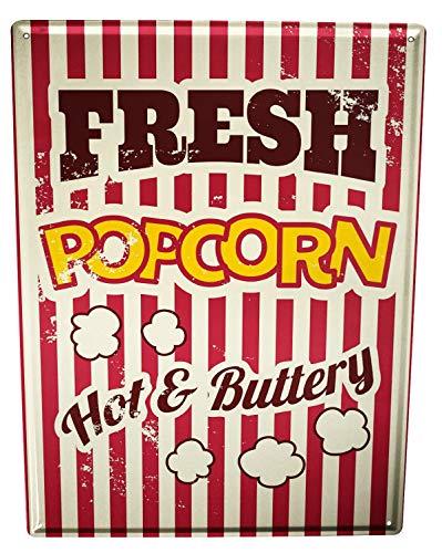 vintage popcorn sign - 6