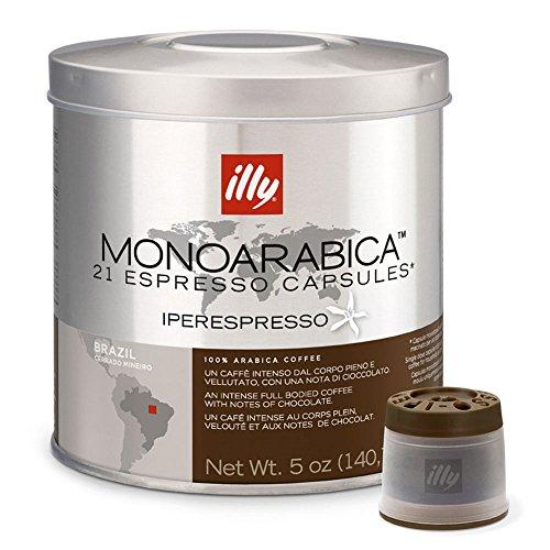 Illy Coffee Intense taste Iperespresso Arabica Selection Brazil Capsule (6 packs)
