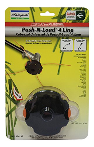 Shakespear Push N Load Trimmer Head 14547 Fits Most Models