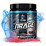 eFlow Nutrition ENRAGE Pre Workout Supplement with Creatine Beta Alanine Citrulline Agmatine Preworkout Powder to Boost Energy Pumps and Strength - 4 Flavors (Rocket Pop)