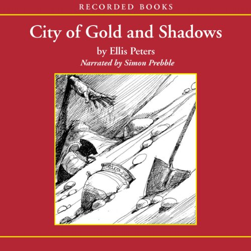 City of Gold and Shadows audiobook cover art