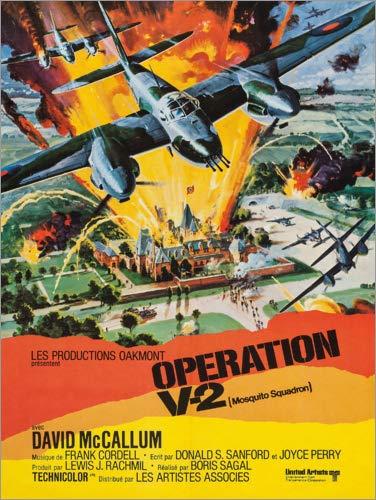 Posterlounge Cuadro de metacrilato 70 x 90 cm: Mosquito Squadron de Entertainment Collection
