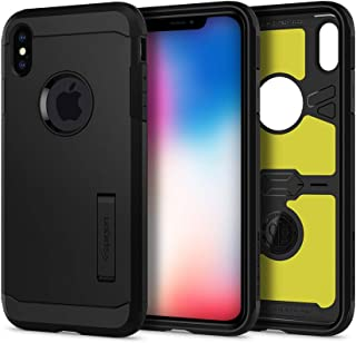 Spigen Tough Armor XP designed for iPhone XS MAX case / cover - Black with Extreme Impact Foam