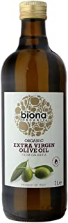 Biona Organic Extra Virgin Olive Oil From Calabria, 1L