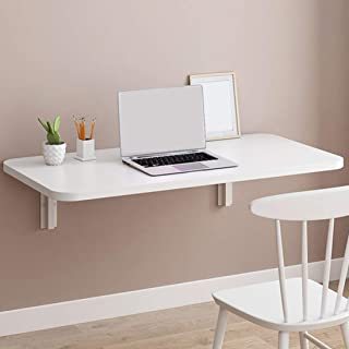 Fold Wall Mounted Table Folding Workbench Down Table Wall Mounted Desk,Folding to Garage and Shed/Home Office/Laundry/Home...