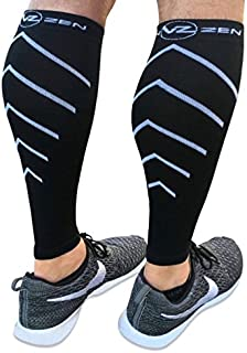 Calf Compression Sleeve Toeless Socks - Improve...