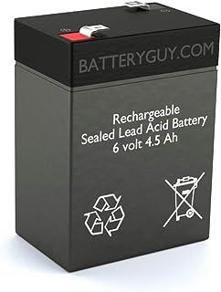BatteryGuy Battery BG-645F1-6V 4.5AH Replacement for BCI 3301 Pulse Oximeter Battery