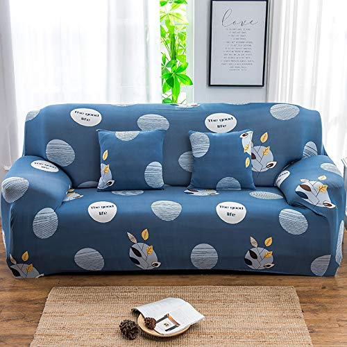 QWEASDZX Sofa Cover Pet Protection Cover Non-Slip And Stain Resistant Machine Washable Furniture Protection Cover Modern Corner Sofa Cover 4 Seater(235-300cm)