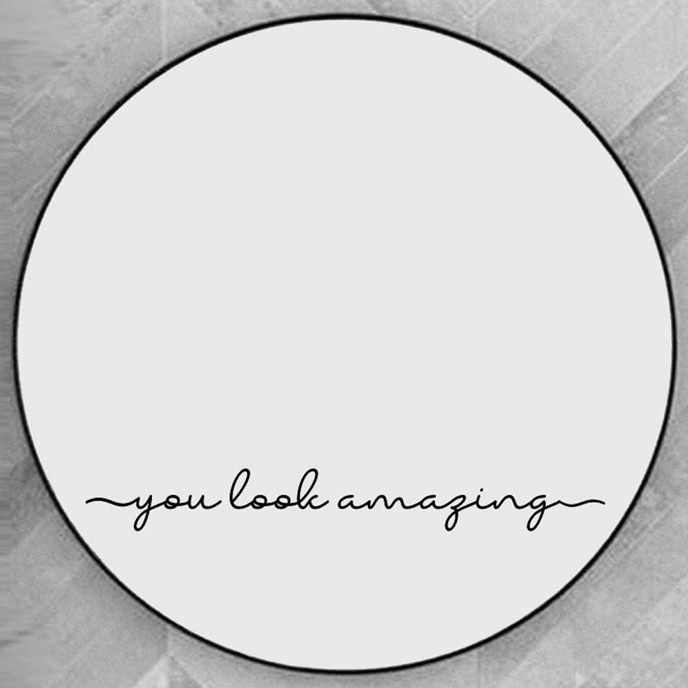Be Inspirational Mirror Decal Sticker  Mirror Decal Sticker