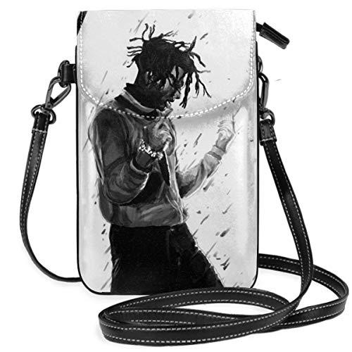 Playboi Carti - Bolso bandolera para teléfono celular, multifunción, piel sintética, suave, bolso de hombro, bolso pequeño para teléfono celular, bolso de hombro