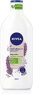 Nivea Naturally Good, Natural Lavender Body Lotion, For Dry Skin, No Parabens, 98% Natural Origin Ingredients, 350 ml