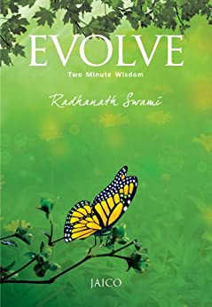 Evolve: Two Minute Wisdom by [Radhanath Swami]
