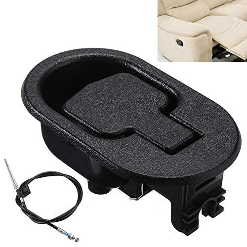 2 unids/set de Metal para sofá reclinable, manija de liberación, barra de presión, cable de tracción, silla + interruptor, caja de alambre, repuesto para sofá, silla, Hardware