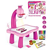 Drawing Projector for Kids,Trace and Draw Projector Toy,Children Drawing Projector Table,Educational Projector Drawing Playset Trace and Draw Projector Toy Christmas Birthday Gifts for Kids Boys Girls