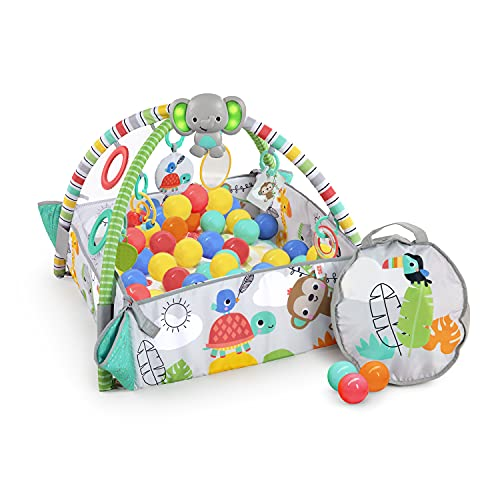 Bright Starts, 5-in-1 Your Way Ball Play Activity Gym & Ball Pit - Totally Tropical