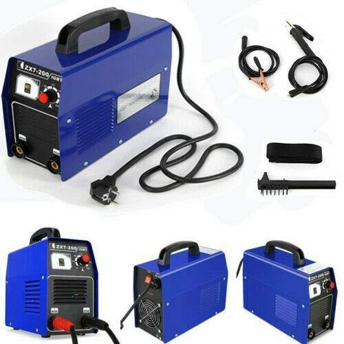 Inverter Schweißgerät MMA Welding Unit Schweißer Elektro löten Schweißapparat 20-120A IP 21S Elektrodenkabel Elektrodenschweißgerät