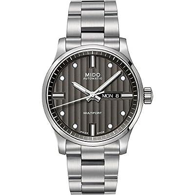 Mido Damen-Armbanduhr XS Multifort Analog Automatik Edelstahl M0050071106600