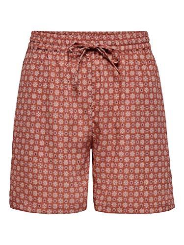 ONLY Damen Shorts Bedruckte 42Hot Sauce