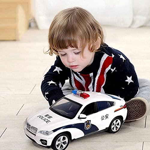 BHJH7 Radio Control Remoto Coche RC 1:24 RC Offroad War Police 4WD Coche Coche de Carreras Remoto inalámbrico 2.4G Control de Cuatro a través de Juguetes para niños al Aire Libre para Regalo de niños