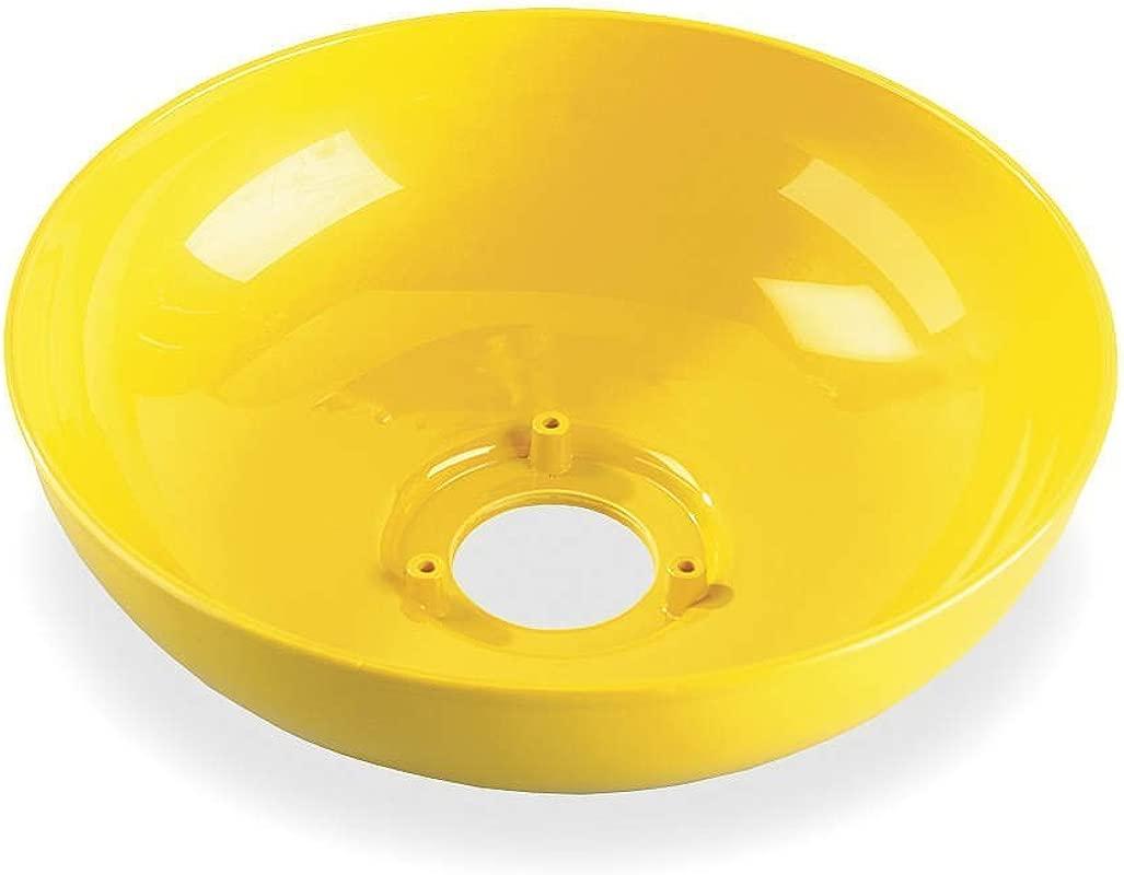 Plastic Eyewash Bowl 10 In Dia