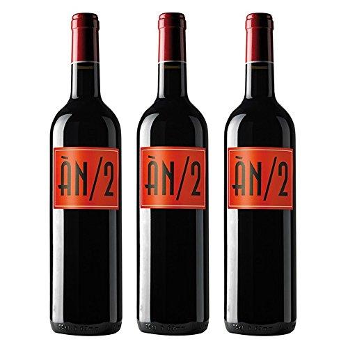 3er Paket Pack Spanischer Rotwein Anima Negra AN/2 Mallorca Spanien (3 x 0.75 l)