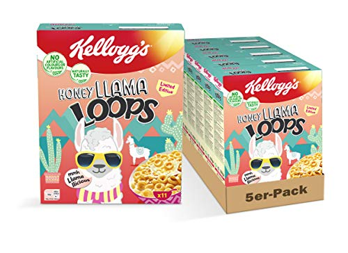 Kellogg's Honey BSSS Loops Cerealien | 5er Vorratspack | 5 x 330g