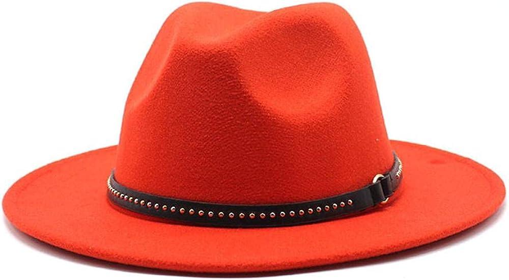 Tucson Mall Women's and Men's Fedora Hat Classic Brim Elegant Panama free shipping Wo Wide