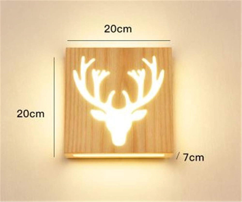 Wandbeleuchtung,Wohnzimmer-Gangs-Treppen-Nachttisch-Wandlampe Der Kreativen Led-Wandlampe Des Modernen Unbedeutenden Schlafzimmers, Weies Licht