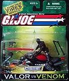 G.I.Joe Snake Eyes with Ninja Lightning Cycle - 3 3/4 Inch [Toy]