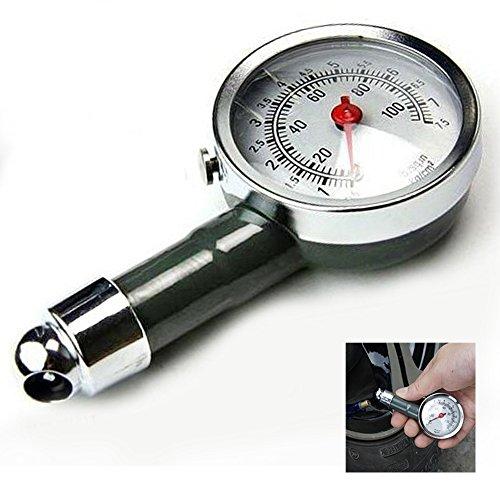 GEZICHTA Medidor de presión de neumáticos de coche de alta precisión, medidor de presión de aire de coche, herramienta de diagnóstico