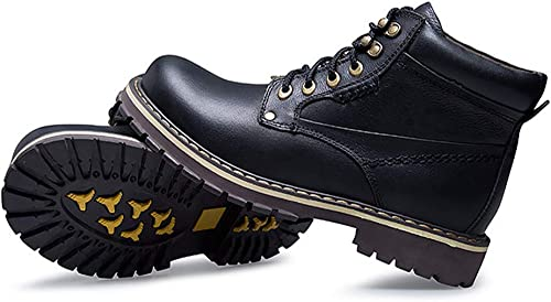 Hiver Martin Bottes Pour Pour Pour des hommes Chaud Bottines Bottes Confortables Couple Chaussures Unisexe Bottes De Moto De Plein Air De Travail Chaussures De Sécurité b9b