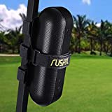 RUSFOL Durable Golf Cart Wireless Speaker Holder, Adjustable Strap Mount for Golf Cart Railing. Fits Most Wireless Speakers
