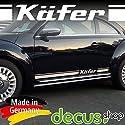 VW Käfer 1303 Zierleisten Zierleistensatz Seitenteil vorne Chrom poliert 0477