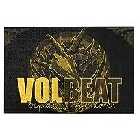 パズル 1000ピース Volbeat ボルビート ジグソーパズル 木製 大人とティーンエイジャー 家族 知育 減圧 おもちゃ 家の装飾 (75x50cm)