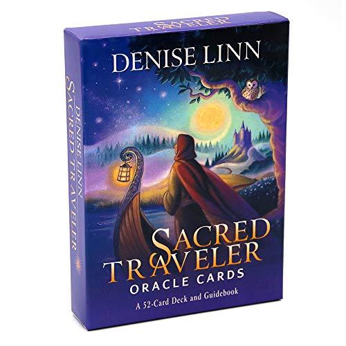 Sagrado Viajero Oracle Cards Una baraja de 52 Cartas y una guía