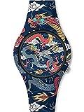 Montre Homme Doodle Street Fighter Mood Cadran Bleu - DO42002