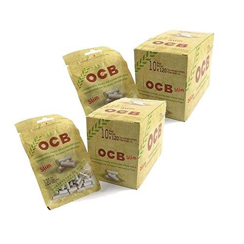 OCB Organic Slim Drehfilter Feinfilter 20x120 Filter Eindrehfilter 6mm