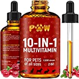10 In 1 Cat & Dog Multivitamin - Hip & Joint Vitamins For Dogs +...