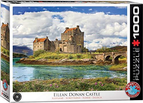EuroGraphics- Eilean Donan Castle-Scotland Puzzle da 1000 Pezzi, 6000-5375